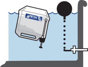 floating-dispenser